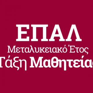 Μεταλυκειακό Έτος ΕΠΑΛ-Παράταση προθεσμίας διάθεσης θέσεων Μαθητείας φορέων του δημοσίου τομέα